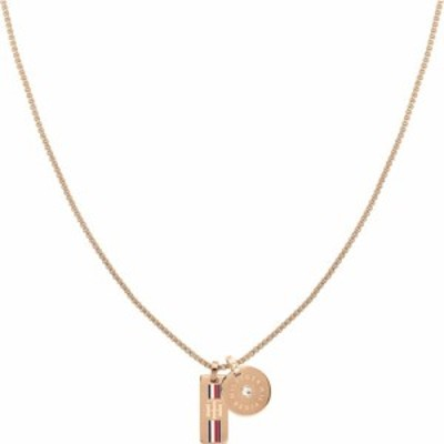 トミー ヒルフィガー Tommy Hilfiger レディース ネックレス ジュエリー・アクセサリー Double Bound Necklace Gold