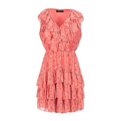 VANESSA SCOTT ミニワンピース&ドレス オレンジ S ポリエステル 100% ミニワンピース&ドレス