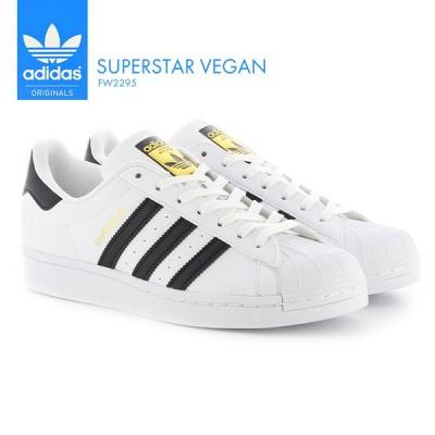 アディダス メンズ レディース スニーカー adidas スーパースター SUPER STAR VEGAN ヴィーガン FW2295 シューズ 靴 ホワイト オリジナルス スポーツ