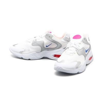 ナイキ エア マックス NIKE AIR MAX 2X スニーカー 靴 Col:ホワイト/ブルー/ホワイト/シルバー/クリムゾン
