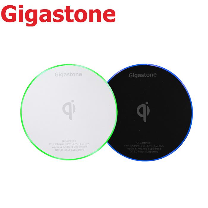 【快速出貨】Gigastone GA-9600 極速無線快充充電盤-黑