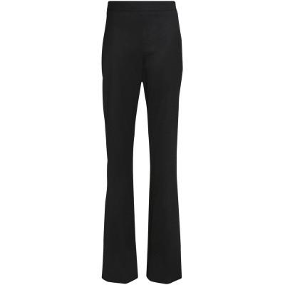 オスカー・デ・ラ・レンタ OSCAR DE LA RENTA パンツ ブラック 12 ウール 97% / ポリウレタン 3% パンツ