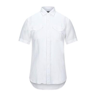 リプレイ REPLAY シャツ ホワイト S リネン 100% シャツ