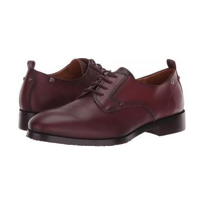 Pikolinos レディース 女性用 シューズ 靴 オックスフォード 紳士靴 通勤靴 Royal W4D-4723 - Garnet
