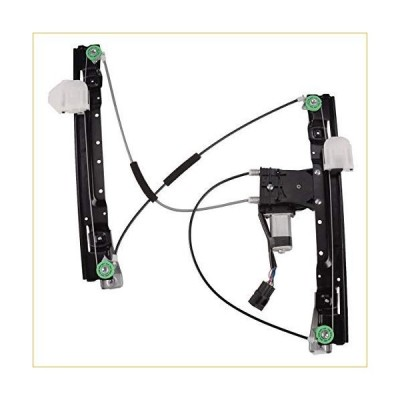 A-Premium Window Regulator with Motor Compatible with Jaguar XJ 2010-2019 XJR 2014-2016 Front Rightウィンドウレギュレーター 並