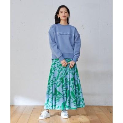 スカート Nina(ニーナ)ペインティングロングスカート