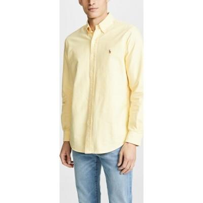 (取寄)ポロ ラルフローレン オックスフォード シャツ Polo Ralph Lauren Oxford Shirt Yellow 送料無料