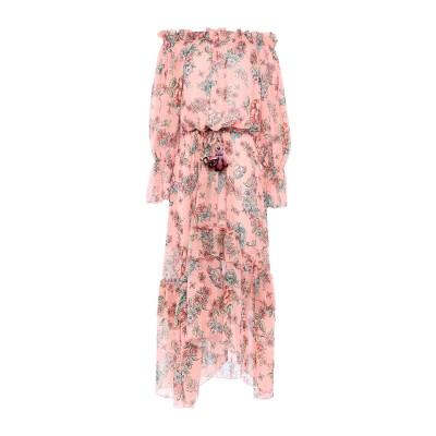 アンジュナ ANJUNA ロングワンピース&ドレス ピンク S ポリエステル 100% ロングワンピース&ドレス