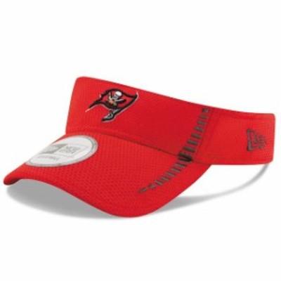 New Era ニュー エラ 帽子 バイザー New Era Tampa Bay Buccaneers Red Speed Training Mesh Visor