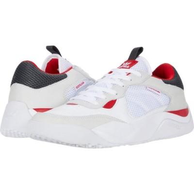 スープラ Supra メンズ スニーカー シューズ・靴 Pecos White/Red/White