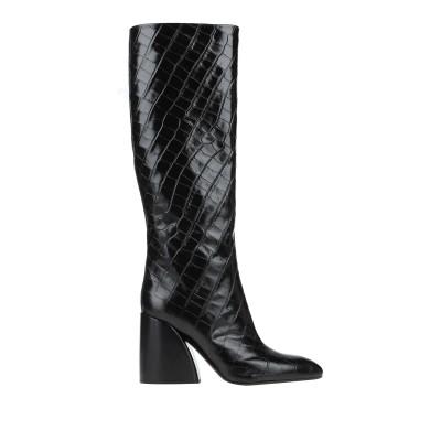 クロエ CHLOÉ ブーツ ブラック 37.5 牛革(カーフ) ブーツ