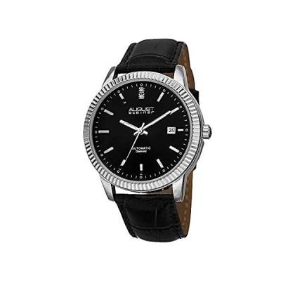 【新品・送料無料】August Steiner Men's Automatic Watch - Automatic-self-Wind Movement On Coin