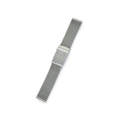 CASSIS[カシス] メッシュ 時計ベルト Mesh Mirror メッシュミラー 20mm シルバー 交換用工具付き V99460H4020M