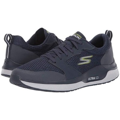 スケッチャーズ Go Run Steady メンズ スニーカー 靴 シューズ Navy/Lime