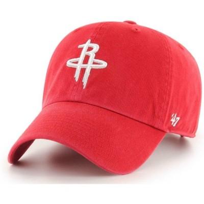 フォーティセブン 47 メンズ キャップ 帽子 Houston Rockets Clean Up Adjustable Hat