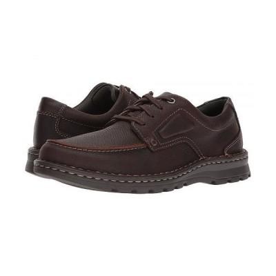 Clarks クラークス メンズ 男性用 シューズ 靴 スニーカー 運動靴 Vanek Apron - Brown Oily Leather