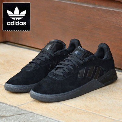 アディダス SB スニーカー 3ST004 スケートシューズ ブラック adidas BLACK スケートボード 3ST.004 FY0501