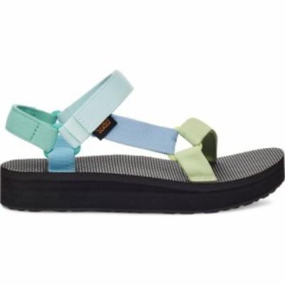 テバ Teva レディース サンダル・ミュール シューズ・靴 Midform Universal Sandals Light Green Multi