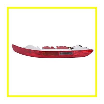 送料無料 Qiilu Rear Left サイド Lower バンパー レッド Reverse Tail Light Assembly for アウディ Q5 2.0T 2006-2016, 8R0945095 並行