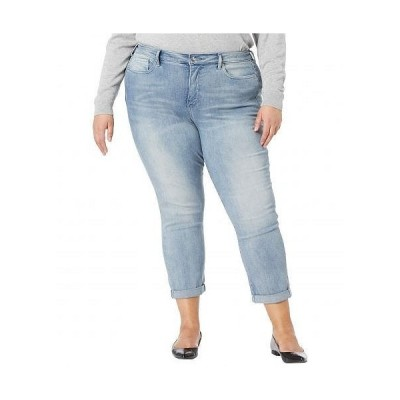 NYDJ Plus Size エヌワイディージェー レディース 女性用 ファッション ジーンズ デニム Plus Size Sheri Slim Ankle Jeans with Roll Cuff in Affection Was..
