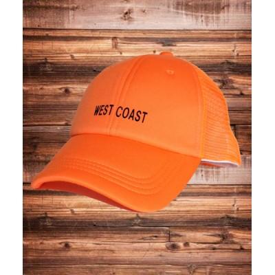 THE CASUAL / ネオンカラー ベースボール メッシュキャップ キッズ KIDS 帽子 > キャップ