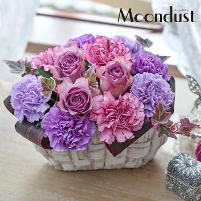 母の日 2021 花 ギフト プレゼント アレンジメント「ヴィオレノーブル」  日比谷花壇