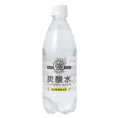 強炭酸水 500ml 24本・48本 友桝飲料