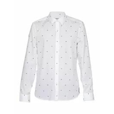 Kenzo メンズシャツ Kenzo Cotton Shirt WHITE