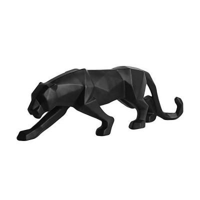 KJFSDH Bust Handmade Sculptures Resin Leopard Statue Wildlife Decor Gift Craft for Ornament Accessories Modern Abstract Panther Sculpture Bl