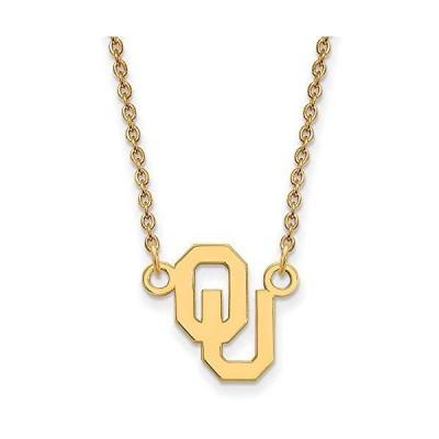 ネックレスRyan Jonathan Fine Jewelry Sterling Silver Gold Plated Oklahoma Small