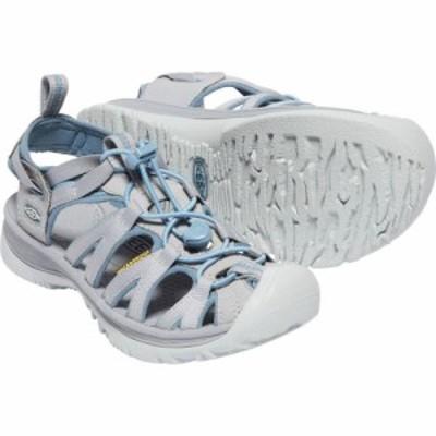 キーン Keen レディース サンダル・ミュール シューズ・靴 Whisper Sandals Blue Shadow Alloy