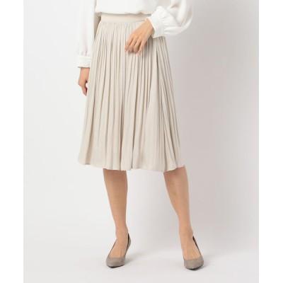 NOLLEY'S / ドレープサテンスカート WOMEN スカート > スカート