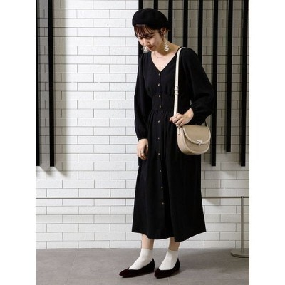 【アースミュージック&エコロジー】エンパイアギャザーワンピース
