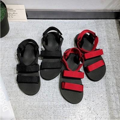 サンダル メンズ ストラップ 靴 シューズ アウトドア ファッション 街歩き ビーチ リラックス 痛くない 超軽量 メンズスリッパ ビーチサンダル