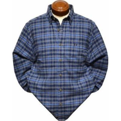 【セール】 マクレガー ボタンダウン長袖シャツ メンズ 111179801 ネルシャツ 起毛 L/LL