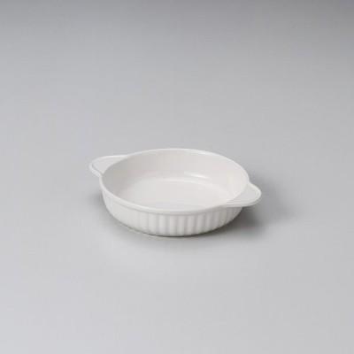 (萬古焼)乳白丸グラタン(大) ス598-317