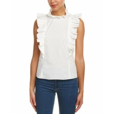 Rebecca Taylor レベッカテイラー ファッション 衣類 Rebecca Taylor Sleeveless Pop Pleat Shirt 10