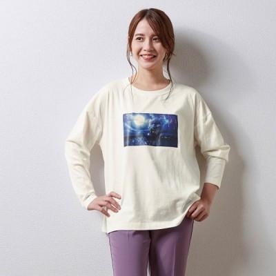 ディズニー フォトプリントロングTシャツ(選べるキャラクター) リトル・マーメイド S M L LL