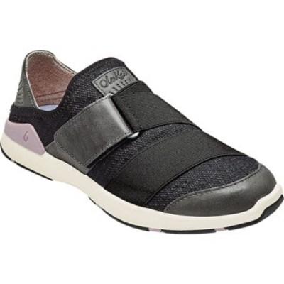 オルカイ レディース スニーカー シューズ Mikilua Kako'O Sneaker Black/Black Textile