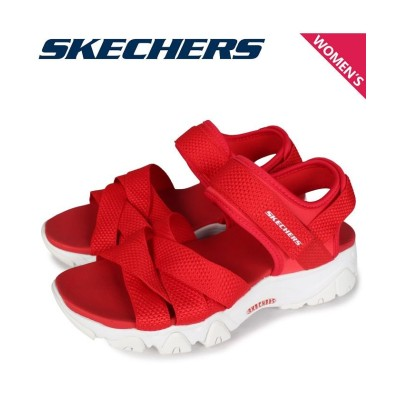 【スニークオンラインショップ】 スケッチャーズ SKECHERS ディライト 2.0 サンダル スポーツサンダル レディース DLITES 2.0 MEGA SUMMER レッド 32996 レディース その他 US8.0-25.0 SNEAK ONLINE SHOP