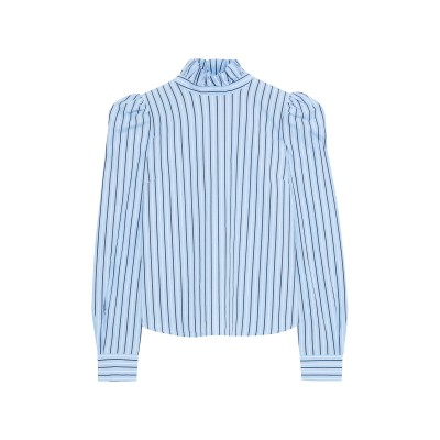 フレームデニム FRAME シャツ スカイブルー XS コットン 100% シャツ