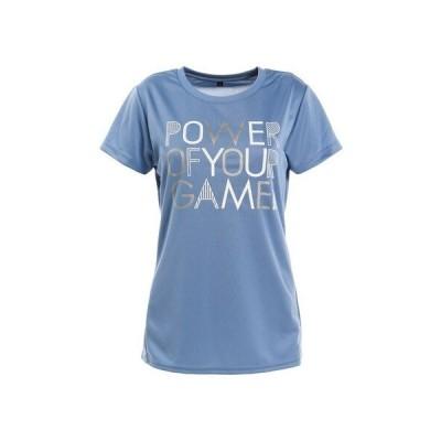 パシフィック(PACIFIC) テニスウェア ドライプラス スループラス 半袖Tシャツ PT20FW661 LBLU (レディース)