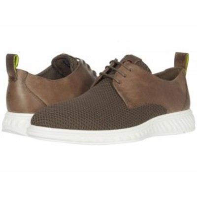 ECCO エコー メンズ 男性用 シューズ 靴 オックスフォード 紳士靴 通勤靴 ST.1 Hybrid Lite Casual Tie Dark Clay/Dark Clay【送料無料】