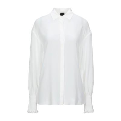 ピンコ PINKO シャツ ホワイト 40 シルク 100% シャツ