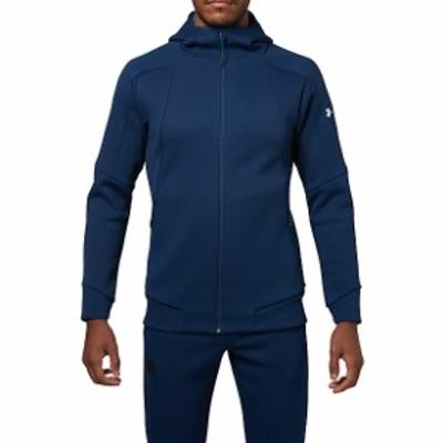 【セール】 アンダーアーマー メンズスポーツウェア ウォームアップジャケット 18S UA KNIT FZ HOODY 1313485 1RD メンズ ADY/ADY