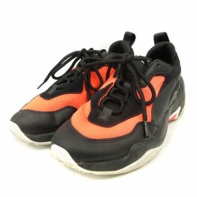 【中古】プーマ スニーカー サンダー ファッション 2.0 26cm 黒 ブラック オレンジ 370376 /SR ■SH メンズ