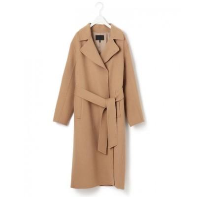 【ICB】 Wool Rever ベルテッドコート レディース キャメル系 0 ICB