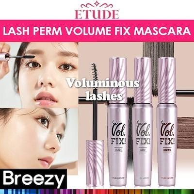 BREEZY [ETUDE HOUSE] Lash Perm Volume Fix Mascara 8g / 3 colors