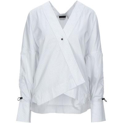 オスクレン OSKLEN シャツ ホワイト M コットン 100% シャツ