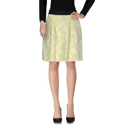 ピンコ PINKO ひざ丈スカート イエロー 44 ポリエステル 68% / コットン 27% / ナイロン 5% ひざ丈スカート